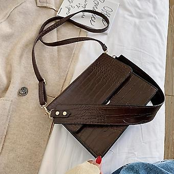 Mujeres's diseñador bolso cocodrilo patrón hombro mensajero bolsa