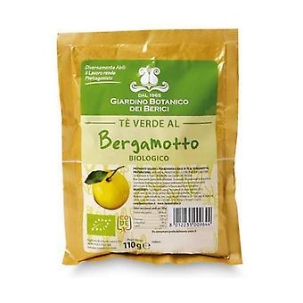 Bergamot soluble green tea mix 110 g of powder