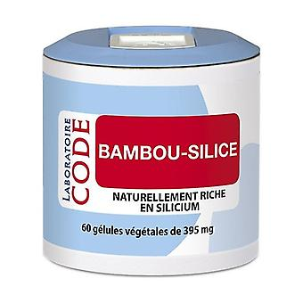 Bamboo-Silica Pillbox 60 capsules of 395mg