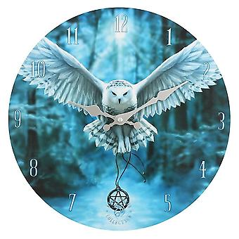 Anne Stokes Awake Your Magic Wall Clock