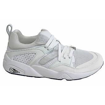 Puma BOG Blaze Of Glory Reflective White Lace Up Mens Trainers 362188 02 P0