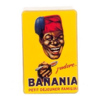 Dolls House Ranskalainen Banania Säilytyslaatikko Moderni Keltainen Lisävaruste