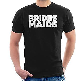 Morsiusneitoja Logo Bold Men's T-paita