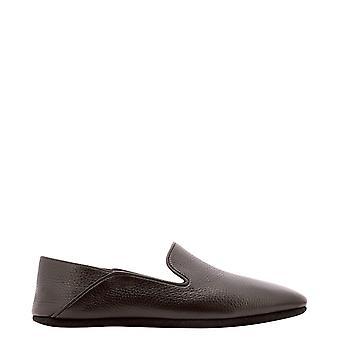 Farfalla Gc5cervotmoro Men's Brown Leather Loafers