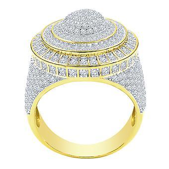 الجنيه الاسترليني 925 الفضة مايكرو يمهد خاتم - انبهار