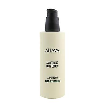 Ahava Superfood Kale & Gurkmeja Utjämning Body Lotion 250ml/8.5oz
