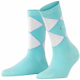 Calcetines Burlington Darlington - Azul claro/Blanco