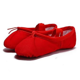 Cvičení Plátno Balet taneční obuv