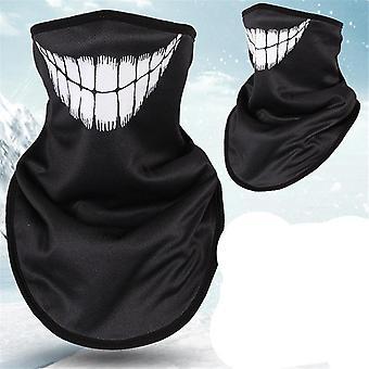 3d χειμώνα fleece σκι μάσκα προσώπου