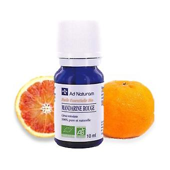 Red mandarin essential oil 10 ml of essential oil