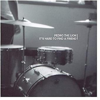 Pedro The Lion - It's Hard To Find A Friend (Trans Red) [Vinyl] USA import