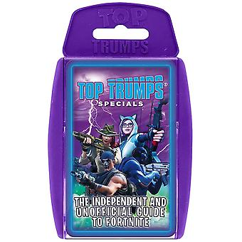 Independent & Unofficial Guide To Fortnite Top Trumps Card Game