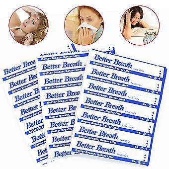 50-500pcs Breathe Nasal Strips Roncando Anti Ronco Tiras de Saúde