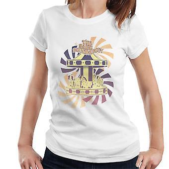 La camiseta de Magic Roundabout Retro Carousel Women's