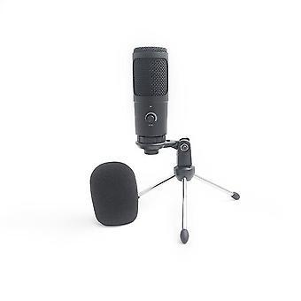 Kit de paquete de micrófono de condensador USB profesional Ytom t669, micrófono con soporte de brazo de tijera ajustable soporte de soporte para zoom de Youtube