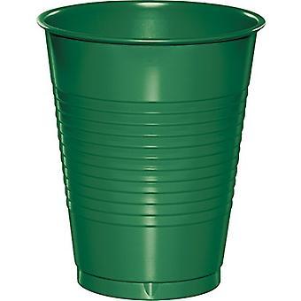 16Cup Pl 12/20Ct Verde Smeraldo