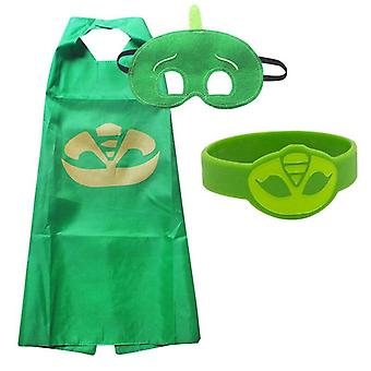 Masks Costume Cosplay, Half Face Mask, Halloween Party, Superhero Anime Figure