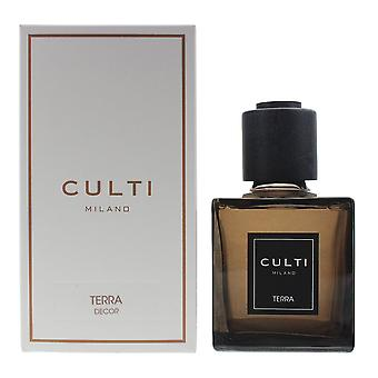 Culti Milano Decor Diffuser 250ml - Terra - Sticks Not Included In The Box