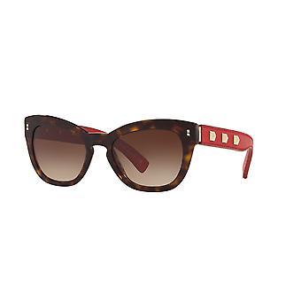 Valentino VA4037 500213 Havana/Brown Gradient Sunglasses