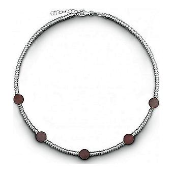 QUINN - Halskette - Damen - Silber 925 - Edelstein - Rosa Quarz - 27312330