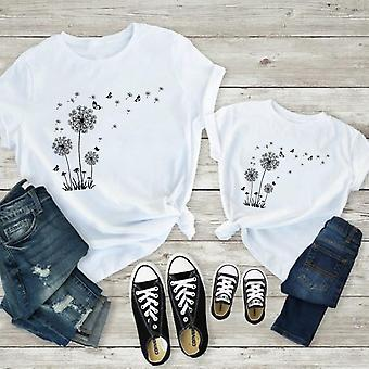 Isä ja poika T-paidat, Esteettinen T-paita, Äiti Tytär Mekot