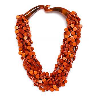 Zen Jewellery Multi Strand Bead Necklace