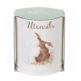 Wrendale Designs Hare Design Utensils Jar