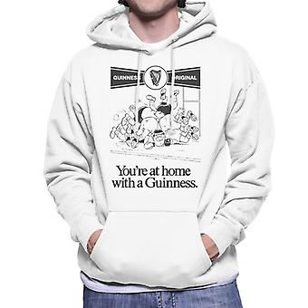 Guinness You Are At Home With A Guinness Men's Hooded Sweatshirt