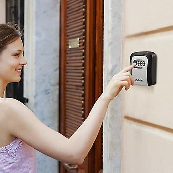 Wall-mounted Password Code Lock Key Box Padlock Box Storage Box Outdoor Metal