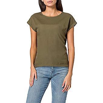 edc av Esprit 021CC1K308 T-Shirt, 350/kaki Green, S Woman