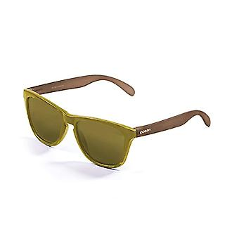 Ocean Sunglasses Sea - Sunglasses, unisex, for adults, yellow (matt yellow/brown stem/red yellow), one size fits all