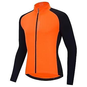 Pánské cyklistické dresy Prodyšné plné zipy s dlouhými rukávy MTB Cyklistická košile Bike Riding Clothing Shirt