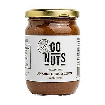 Chocolate-coconut almond spread 280 g of cream