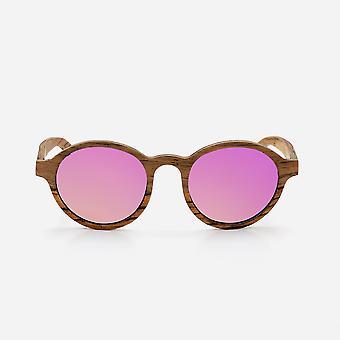 Cambium lagos sunglasses - wooden frame