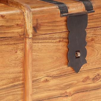 vidaXL cofre de madera 90x40x40 cm acacia madera maciza