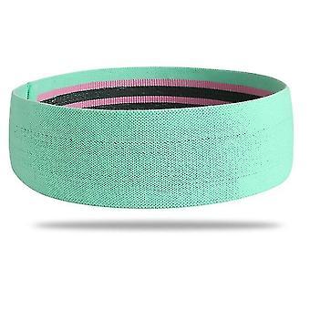 حزام اليوغا الخضراء حزام اللياقة البدنية حزام مرن القرفصاء حزام الأرداف الجميلة حزام x3619
