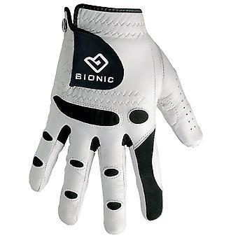 Bionic Mens StableGrip Leather Golf Gloves Orthopedic - RH