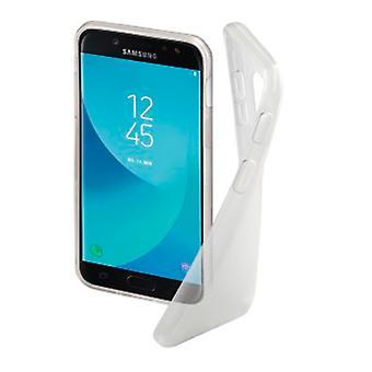 Hama «Crystal Clear» Couverture pour Samsung Galaxy J3 (2017), transparent
