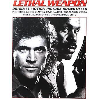 Eric Clapton, David Sanborn, Michael Kamen, Honeymoon Suite - Lethal Weapon White Vinyl