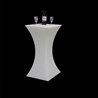 Korkeus led valaistu cocktailpöytä