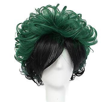 My Hero Academia Anime Wigs Midoriya Izuku Out Curl Synthetic Hair Wigs