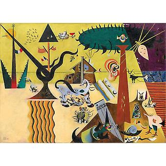 Eurographics The Tilled Field, Joan Miro Jigsaw Puzzle (1000 Pieces)