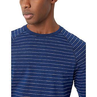 Brand - Goodthreads Men's Long-Sleeve Indigo Raglan T-Shirt