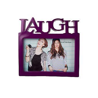 Nektar Laugh Frame, 15 x 10 cm, Purple Photo Frame, Plastics, Home Decor, Home Accessories