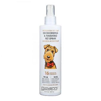 Giovanni Deodorizing & Finishing Pet Spray Oatmeal & Coconut