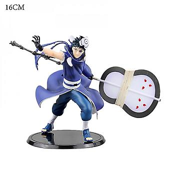Koolyou Anime Characters Naruto Pvc Anime Model Statue Collection Doll Toy Uchiha Belt Soil