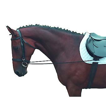 Shires elastiska träningshäst tyglar