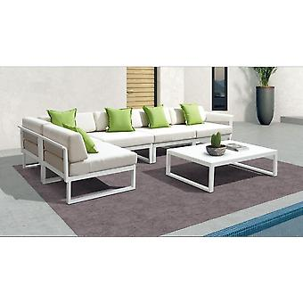 Outdoor Furniture Sofa With Water Resistant Fabric Outdoor Rattan Furniture