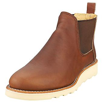 Red Wing Classic Chelsea Womens Chelsea Boots in Brown