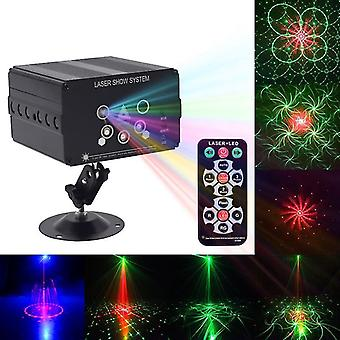 Disco Light 5 Beam 48 Pattern Led Laser Projector